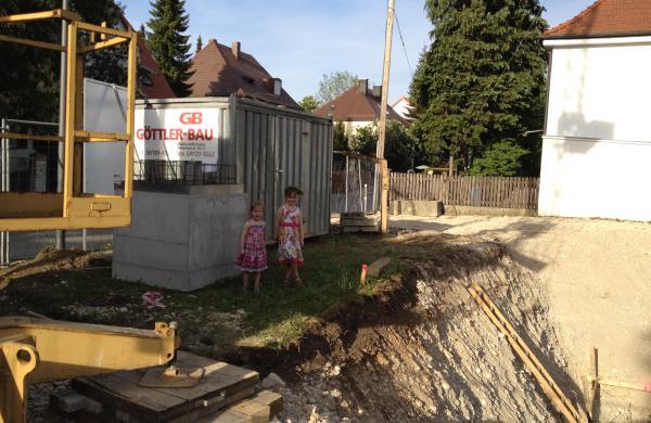 Baustellenbesichtigung