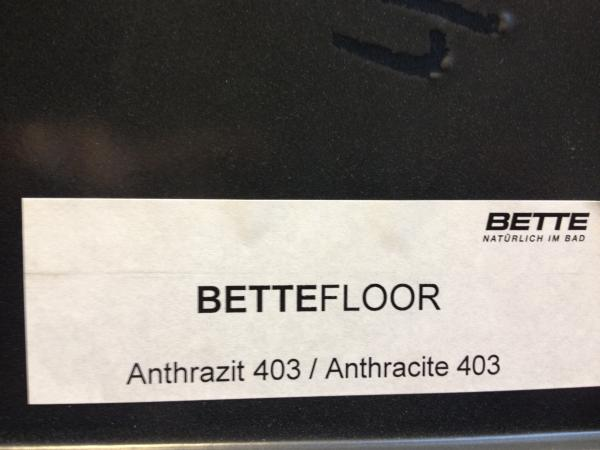 Farbmuster Bette Floor