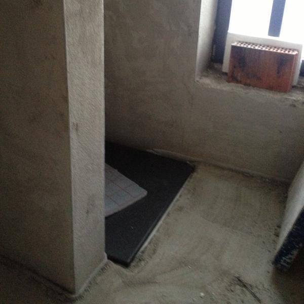 Dusche Dachgeschoss