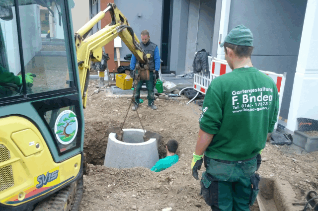 Gemeinschaftsfläche Entwässerung