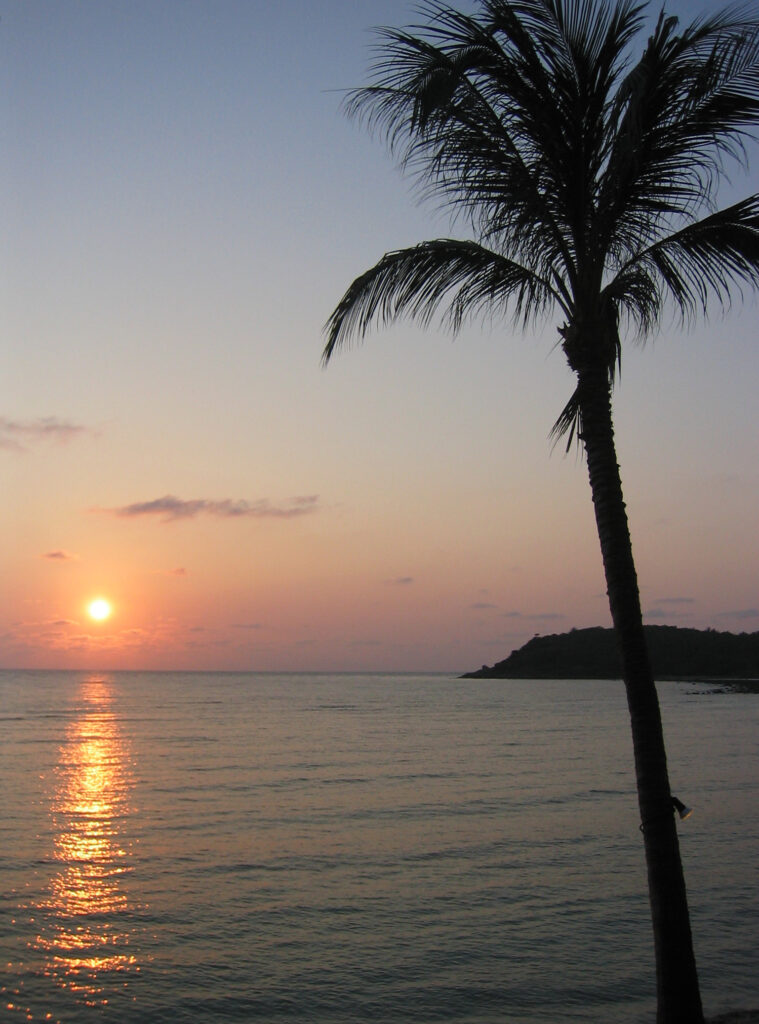 Sonnenaufgang auf Koh Samui